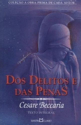 o livro dos delitos e das penas cesare beccaria