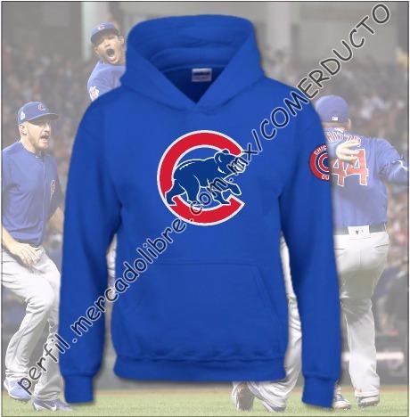 Sudadera Chicago Cubs Sudadera Cubs De Chicago Beisbol Xbxz -   475.00 en Mercado  Libre 60fbe55e1cd
