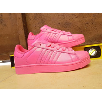 Concha Superstar Adicolor Pharrel Rosa Adidas
