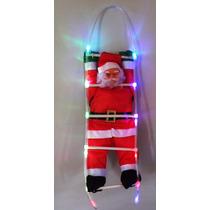 Papai Noel Com Led Escalador Natal Luz Natalina Decoraçao