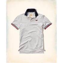 Camisa Polo Hollister Original (eua) Tamanho Gg - Novo