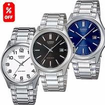 Reloj Casio Mtp1183 Estilo Clásico Extensible Metal - Cfmx