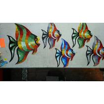 Mosaico Veneciano Figuras Peces Payaso Alberca Decoraciones