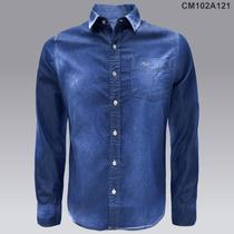Promoción 2x$599 Camisa Mezclilla Casual Envio Gratis