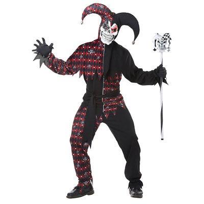Disfraces De Halloween Para Hombre Siniestro Bufon 148990 En - Disfraz-de-halloween-para-hombre