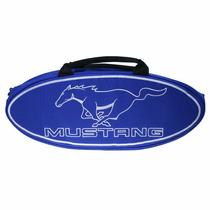Maleta De Lona Con Asas Con Logo Mustang
