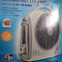 Ventilador Recargable Gp2650 10 Lampara De Emerg Y Radio.