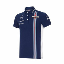 Nova Pólo Oficial Williams Martini Racing F1 Team 2016 Azul
