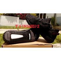 Zapatos Adidas Yezzy Boost 350 Todo Negro
