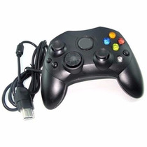 Control Generico Para Xbox Clasico Negro Contraentrega