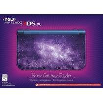 New 3ds Xl Galaxy Style Edition Cartão 4gb Ar Cards Stylus