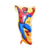 1un Balão Metalizado Homem Aranha 65x43cm