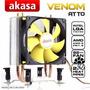 Cooler Venom Atto Akasa Lga 1156-1155-1150-1151-am3+ Am2+