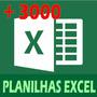 Mais De 3000 Planilhas Prontas E Editáveis + Brinde