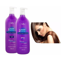 Kit Moist Mairibel Shampoo E Condicionador Aloe Vera 1000ml