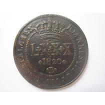 Brasil Moeda Lxxx Réis 1820 B