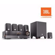 Jbl Cinema J5100 - Home Theater Jbl Receiver + Caixas + Sub