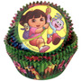 Capacillos Para Ponquesitos (cupcake) Dora Exploradora X50