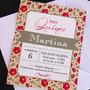 Tarjetas Invitaciones Cumpleaños De 15/casamiento + Sobre