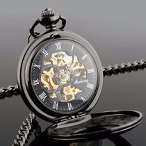 Reloj Relojes De Bolsillo De Cuerda Y Automático Skeleton