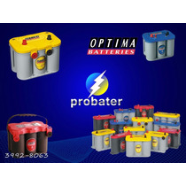 Bateria Optima Agm D34/78 55ah Somente A Retirar Probater