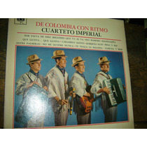 Cuarteto Imperial - De Colombia Con Ritmo - Cumbia - Lp -
