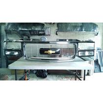 Parrilla Chevrolet Cheyenne Silverado Nueva 88 Al 98 Cromada