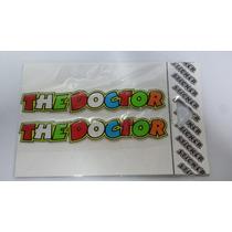 Adesivo Resinado Valentino Rossi The Doctor Capacete - 2pç