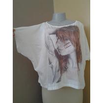 Blusón Blusa Franela Para Damas Importado. Fresco Diseño