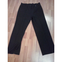 Pantalon De Vestir De Señora De Creepe, Talle 56. Nuevo