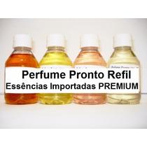 Perfume Pronto Essência Importada 100ml Diversas Fragrâncias