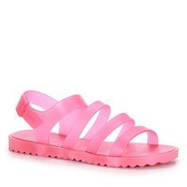 Sandália Rasteira Feminina Zaxy Spring - Pink