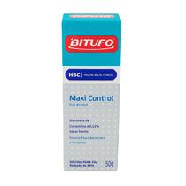 Pasta De Dente Para Gengivite Maxi Control Bitufo Sem Fluor!