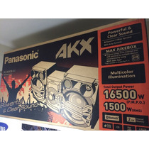 Equipo De Sonido Panasonic Modelo Sc-akx58. Nuevo