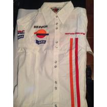Camisa Feminina Oficial Honda Gas Hrs Motogp