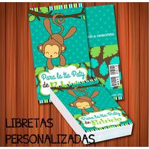 Libreta Personalizada Baby Shower Despedida Bautizo Boda