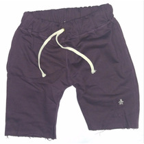 Penguin Bermudas Shorts, Algodon Rustico 100%