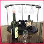 Mini Bar Porta 6 Copas Y Vinos