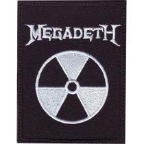 Megadeth Parche Bordado Rock Bandas Musica