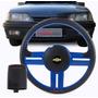 Volante Esportivo Monza 91 92 93 94 95 96 Com Cubo Azul