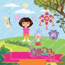 Kit Imprimible Dora La Exploradora 1 Imagenes Clipart