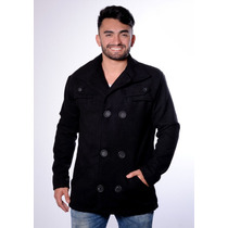 Casaco Blazer Jaqueta Masculina Para Frio De Lã Batida