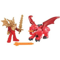 Fisher-price Imaginext Eagle Talon Castillo De Dragón Y Caba