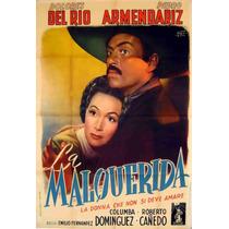 Lienzo Tela Cartel Película La Mal Querida Dolores Del Río