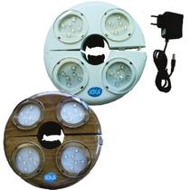 Iluminação De Led Para Ombrelones Cor Marrom - Igui Piscinas