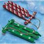 Trineos De Navidad Artesanales Kit, Hace 100