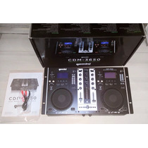 Profecional Mezclador/consola Gemini Cdm-3650 Mp3/cd Player
