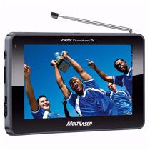 Gps Multilaser Tela 4.3 Touch Tv Digital Rádio Alerta Radar