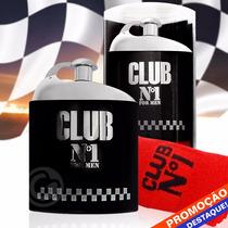 Perfume Club N1 100ml New Brand Referencia Ferrari Black