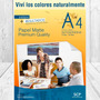 Resma Papel Mate Autoadhesiva A4 210gr - Scp